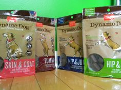 We love the new Dynamo Dog Functional Treats by @CloudStar.