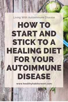 A healthy, anti-inflammatory diet can reduce and sometimes even reverse autoimmune disease. but many of us are reluctant to change. Here are 7 steps to starting and actually sticking to an autoimmun Autoimmune Disease Awareness, Autoimmune Diet, Hashimotos Disease Diet, Crohn's Disease, Ulcerative Colitis, Lunch Lady Brownies, Dieta Anti-inflamatória, Anti Inflammatory Recipes, Paleo Diet