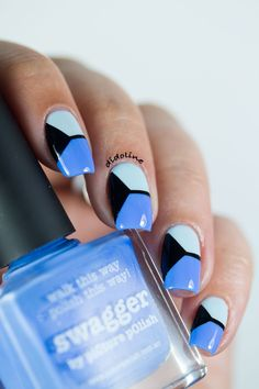 Fashion Friday Nails inspired by David Koma.  #didolinesnails