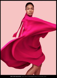Naomie Harris in New York Magazine February 2017 by Erik Madigan Heck — A Nominee in the Moonlight — Photography: Erik Madigan Heck, Model: Naomie Harris, Styling: Rebecca Ramsey, Hair: Peter Lux, Make-Up: Fiona Stiles. Hollywood, Perfect Pink, Photos Of Women, Colourful Outfits, Photoshoot Inspiration, Famous Faces, Pink Fashion, Swagg