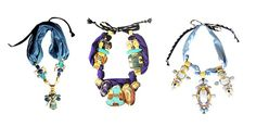 Decorative Necklaces Joyce Makitalo Accessories #prom