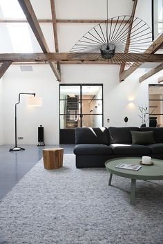 Interior Architecture, Interior And Exterior, Interior Design, Living Place, Home Board, Loft House, Industrial Interiors, House Made, Minimalist Living