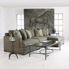 Shop for the Bernhardt Adriana Sectional Sofa at Belfort Furniture - Your Washington DC, Northern Virginia, Maryland and Fairfax VA Furniture & Mattress Store