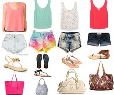 """""""SuMmeR"""" by tayarogers ❤ liked on Polyvore"""