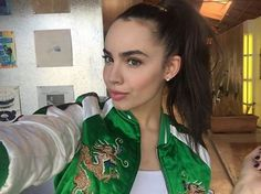@sofiacarson recording music for #Descendants2 ❤️ #DisneyDescendants…