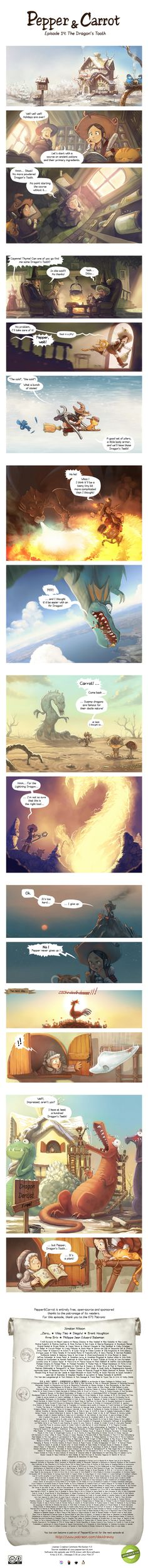 Episode 14 : The Dragon's Tooth by Deevad on DeviantArt