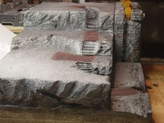 Building a Foam Base for Village/ideas for Christmas. Description from pinterest.com. I searched for this on bing.com/images