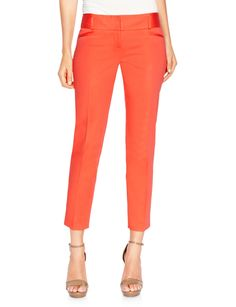 Drew Sateen Ankle Pants | Womens Pants | THE LIMITED