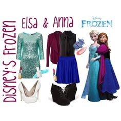 Modern Disney Character Outfits Polyvore | fashion look from December 2013 featuring TFNC dresses, Zalando ...