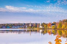 Mahone Bay, Nova Scotia ~Set on the picture-perfect south shore of Nova Scotia, was first settled by the French in the 17th century. The British later gave it the name we know today, and the town has remained a quaint communityattracting artisans and entrepreneurs. While the Three Churches of Mahone Bay, all built in the late-19th century in different architectural styles, are ahighlight, the town hosts wholesome gatherings like the Scarecrow Festival and Antiques Fair during the year too. Scarecrow Festival, Different Architectural Styles, Antique Fairs, The Beautiful Country, Top Destinations, Nova Scotia, Small Towns, Tourism, Coastal