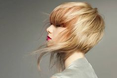 Blown away with rose gold hair- great short cut too! Short Hair Cuts, Short Hair Styles, Short Pixie, Gold Hair, Great Hair, Awesome Hair, Hair Art, Hair Today, Bobs