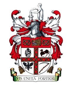 coat of arms of the city of london travel london pinterest arms city and britain. Black Bedroom Furniture Sets. Home Design Ideas