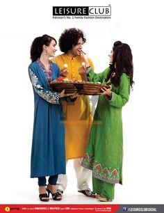Leisure Club Kids - Men Women - Eid Collection 2013