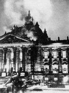 The History Place - Holocaust Timeline: The Reichstag Burns