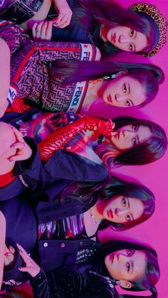 ITZY (있지) is JYP's new girl group. The members consist of Yeji, Lia, Ryujin, Chaeryeong and Yuna. Kpop Girl Groups, Kpop Girls, Bts K Pop, Kpop Girl Bands, World 2020, Mamamoo, Album, Wall Collage, K Idols