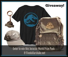 US winner will receive a Jurassic World Merchandise Prize Pack of a hat, backpack, keychain & t-shirt Jurassic World Trailer, Jurassic World Movie, Jurassic Park Series, Jurassic World Fallen Kingdom, Harry Potter, Falling Kingdoms, Super Mom, Canvas Backpack, Movies Showing