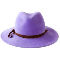 Wide Brimmed Hat Women's Fedora Hat Spring Fashion Spring Accessory... (775 RON) ❤ liked on Polyvore featuring accessories, hats, fedora hat, brim fedora hat, brimmed hat, wide brimmed hat and purple felt hat
