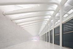 first look inside santiago calatrava's WTC transportation hub in new york