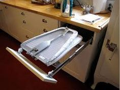 Cupboard with roll out ironing board - Pesquisa Google