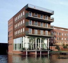 IJBURG BLOK 10 IJburglaan, IJburg, Amsterdam 18 appartementen, 8 eengezinswoningen en 3 werkruimten