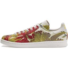 adidas Originals = PHARRELL WILLIAMS Stan Smith Jacquard sneakers ($216) ❤ liked on Polyvore featuring shoes, sneakers, adidas, tenny shoes, adidas footwear, adidas trainers and tennis shoes