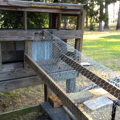 """Chicken TUNNEL from roost to enclosed circle coop.  GREAT IDEA to get them """"around"""" parts they arent to go!!!!"""