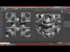 3d Tutorial | Cubic Lattice Abstract | 3dsmax