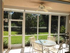 Inviting Lanai with Sunny Private area  #lanai #pelicanbayhomes #condosfordale