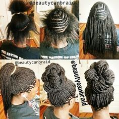 African American Hair Tips & Tricks ~ crochet braids African Hairstyles, Braided Hairstyles, Cool Hairstyles, Protective Hairstyles, Coiffure Hair, Twisted Hair, Crochets Braids, Natural Hair Styles, Long Hair Styles
