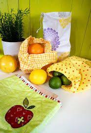 Sy fruktposer i nylon