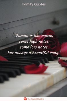family quotes & We choose the most beautiful 52 Loving Quotes About Family That Will Improve Your Relationships Fast for Family is like music, some high notes, some low notes, but always a beautiful song most beautiful quotes ideas Beautiful Family Quotes, Happy Family Quotes, Family Poems, Happy Quotes, Positive Quotes, Motivational Quotes, Inspirational Quotes, Quotes About Family Love, The Words
