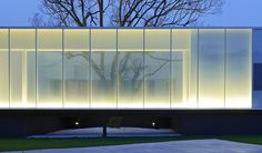 Best Ideas For Modern House Design : – Picture : – Description Lightbox / Hsuyuan Kuo Architect & Associates Architecture Design, Facade Design, Contemporary Architecture, Landscape Architecture, Facade Lighting, Exterior Lighting, Building Exterior, Building Facade, Design Light