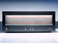 Golden Age Of Audio: Technics SE Stereo Power Amplifier Speaker Amplifier, Speakers For Sale, Audio Design, Design Theory, Audio Sound, High End Audio, Hifi Audio, Audio Equipment, Audio System