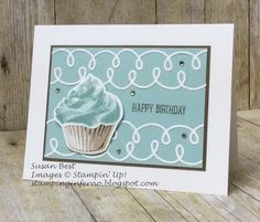 Stamping Inferno: Sweet Cupcake for What Will You Stamp?