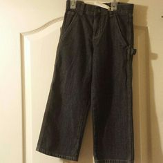 Boys Carpenter Jeans Faded Glory jeans with adjustable waist Jeans Straight Leg