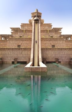 The Leap of Faith at Atlantis the Palm, Dubai | Incredible Pictures