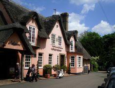 Red Lion pub, Grantchester, Cambridgeshire