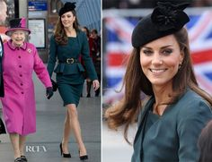 Catherine, Duchess of Cambridge In LK Bennett – Queen's Diamond Jubilee Tour