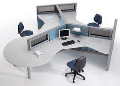 Vecteur d'image pour l'entreprise, le design du mobilier de bureau doit être associé à la fonctionnalité afin de garantir le confort et le bien-être au travail.