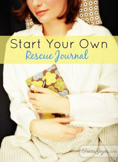 When was the last time God rescued you? Start your own rescue journal to record what Go'd been doing in your life!