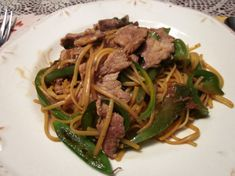 This recipe shows for pork, but you can add thinly sliced beef, chicken, or even use shrimp. You can also add just vegetables for a vegetable lo mein. It's very versatile. Chinese Mushrooms, Fried Mushrooms, Chinese Vegetables, Mixed Vegetables, Vegetable Lo Mein, Vegetable Dishes, Chinese Cabbage, Chinese Food, Chinese Coleslaw