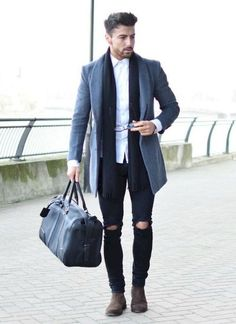 Casual European Mens Fashion Style to Copy (26)