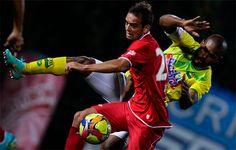 Con golazo de Wander Luiz, América de Cali derrotó al Atlético Bucaramanga en Bogotá En la séptima fecha los Rojos visitan al Real Cartagena, partido programado para el lunes 19 de agosto (festivo) a las 5:30 p.m. Tras la victoria del lunes en Bogotá, América escaló al tercer puesto en la tabla de posiciones.