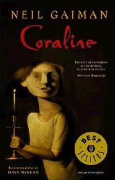 Coraline, de Neil Gaiman. 100 libros de terror por leer