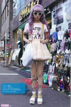 Pretty Purple Girl, Asian Fashion