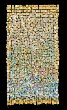 Olga de Amaral Work - Gold and Silver -- beautiful texture