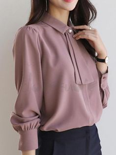 53 Super Ideas For Style Femme Classe Robe Business Professional Outfits, Business Casual Attire, Business Outfits, Business Fashion, Work Fashion, Hijab Fashion, Fashion Outfits, Woman Outfits, Dress Shirts For Women