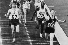 Peter Snell from New Zealand won the 800 metres at the 1960 Rome Olympics