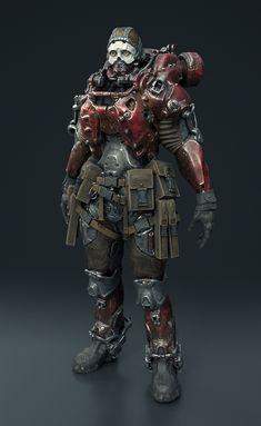 ArtStation - Armor dude, Tomi Väisänen