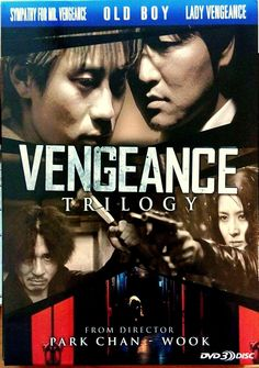 VENGEANCE TRILOGY DVD 3 DISC Old Boy, Lady Vengeance, Sympathy For Mr. Vengeance
